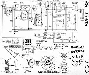 Diagrams And Service Data For General Electric C