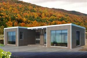 bauhu maison ossature metallique legere modulaire en kit With prix maison structure metallique