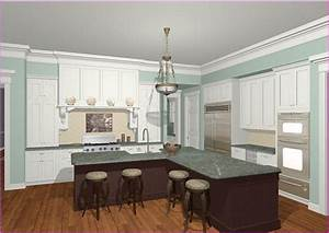 Open Kitchen Design Island Home Design Idea L Shaped Kitchen Island Ideas