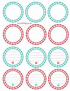 8 best images of printable round labels printable round for Free round label templates