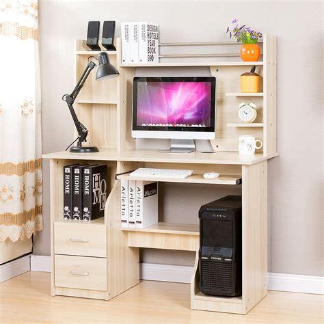Furinno Boyate Computer Desk With Bookshelf by Patriarch Environmental Desktop Computer Desk Desk