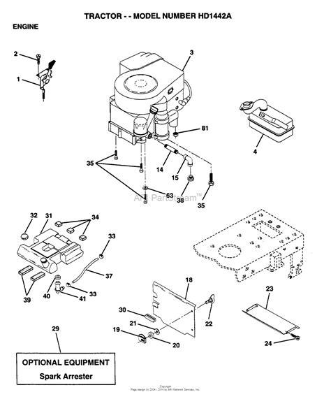 Ayp Electrolux Hda Parts Diagram For Engine