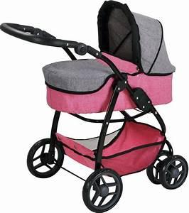 Puppenwagen 2 In 1 : knorr toys puppenwagen 2 in 1 coco jeans grey online kaufen otto ~ Eleganceandgraceweddings.com Haus und Dekorationen