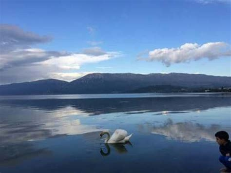 Liqeni i Pogradecit.   Natural landmarks, Nature, Landmarks
