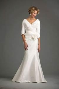 Wedding dresses for older brides 2nd marriage second for Wedding dresses for over 50