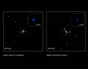 NASA discovers five pairs of giant black holes with the ...