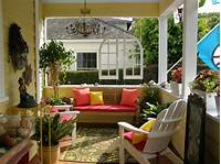 fine porch and patio design ideas Decoration Ideas, Exterior, Front Porch : Cheerful Front ...