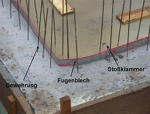 Bewehrung Bodenplatte Aufbau : fugenblech ~ Orissabook.com Haus und Dekorationen