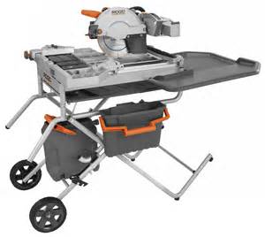 ridgid r4090 tile saw quot the beast quot extreme how to blog
