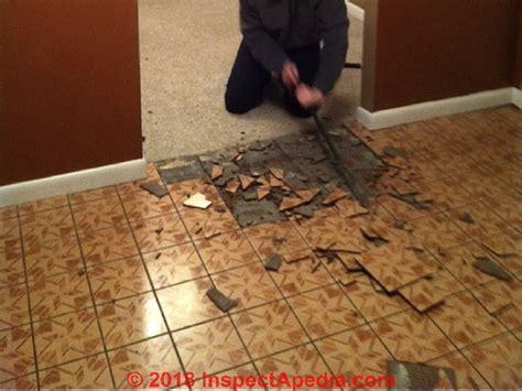 floor tiles    asbestos