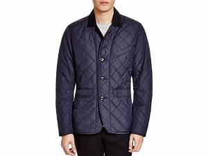 Barbour Beauly Quilted Jacket In Blue For Men Lyst