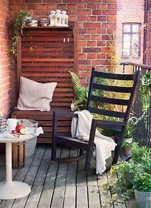 Balkon Bank Ikea : ikea gartenm bel f r eine kleine terrassen oase ~ Frokenaadalensverden.com Haus und Dekorationen