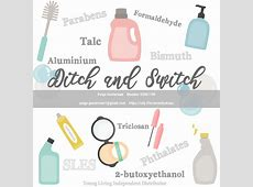 Ditch and Switch with Young Living Serenity Drops