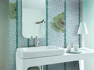 Papier Peint Pour Salle De Bain : papier peint pour salle de bain 20 designs superbes par ~ Dailycaller-alerts.com Idées de Décoration