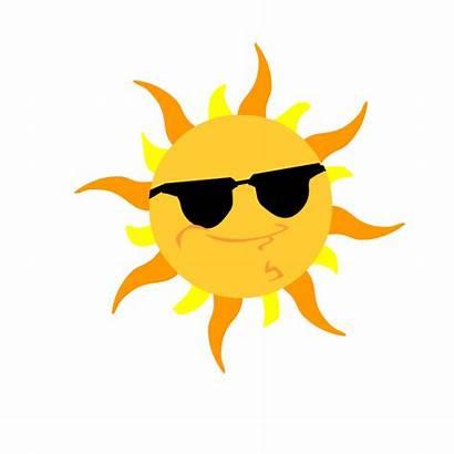 Sun Animated Animations Sunglasses