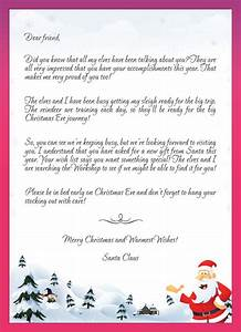 kids letters to santa enjoy christmas with santa claus With certified letter from santa