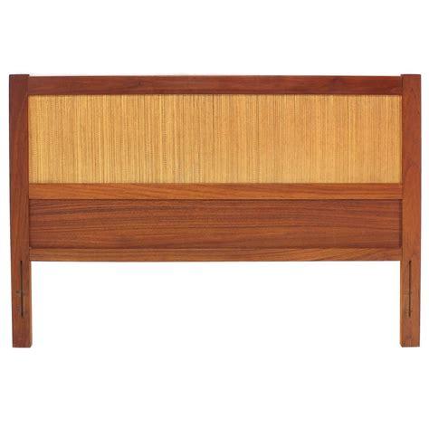 Danish Modern Full Teak Headboard Bed For Sale At 1stdibs