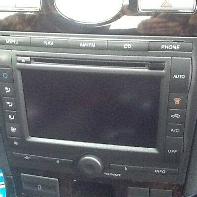 ford mondeo mk3 denso visteon touch screen sat nav satellite navigation 163 149 99 picclick uk