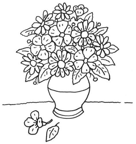 Sie arbeiten mit excel 2007/2010? Kostenlose Malvorlage Muttertag: Blumentopf zum Ausmalen
