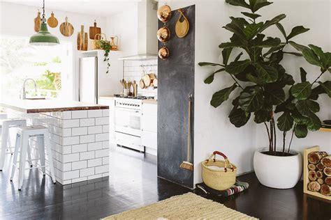 sleek bohemian rustic family home glitter