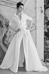 carolina herrera spring 2017 collection bridal fashion With wedding dress shirt