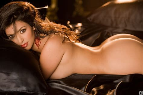 Naked Kim Kardashian West In Playboy Magazine