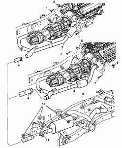 2004 Dodge Ram Exhaust Diagram