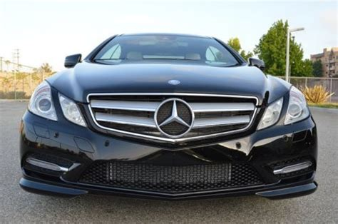 Every used car for sale comes with a free carfax report. Sell used 2013 Mercedes-Benz E550 Coupe! Package 2! AMG Pck! DESIGNO Pck! Loaded! Beauty! in Los ...