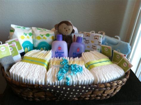 What To Make For Baby Shower Diy Baby Shower Gift Basket Line A Basket With