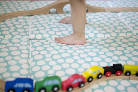 non slip bathroom flooring ideas best non toxic play mats for baby updated 2017