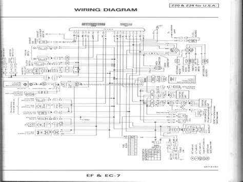 1988 nissan d21 pick up throttle body diagram wiring forums
