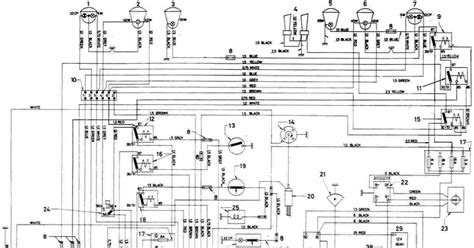 Electrical Wiring Diagram by Volvo 123gt Complete Electrical Wiring Diagram All About
