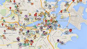 boston detailed pokemon go google map