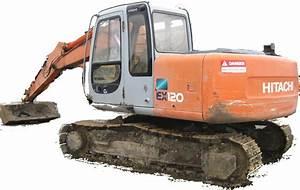 Hitachi Ex120 Excavator Factory Service  U0026 Shop Manual