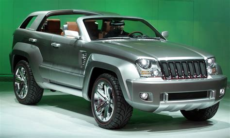 Jeep Grand Future Models by Concept Flashback 2007 Jeep Trailhawk
