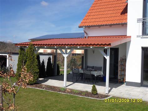 Carport Mit Terrasse  Dachbleche Und Lichtplatten