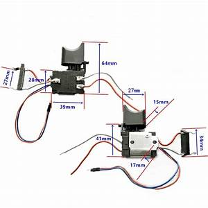 Dc 12v Cordless Drill Switch Replacement For Makita