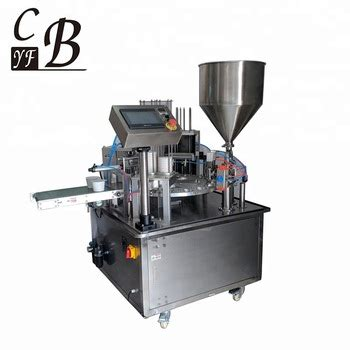 automatic rotary plastic mineral water cup filling sealing packing machine buy water cup