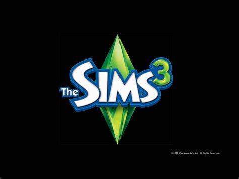 ts logo black  sims  wallpaper gallery  game