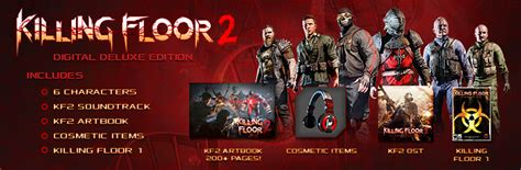 killing floor 2 digital deluxe edition save 50 on killing floor 2 digital deluxe edition on steam