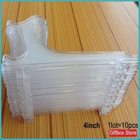 pcslottransparent clear   plastic display easel