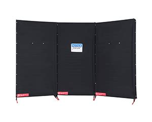 service right portable laser safety curtain barrier