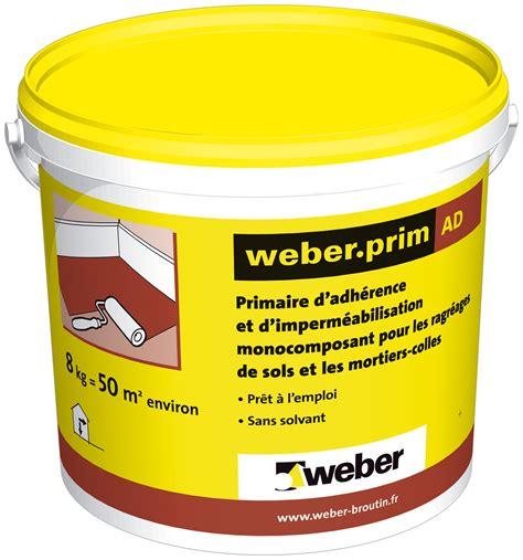 primaire d accrochage pour carrelage primaire d adhrence pour les ragrages de sols et les mortiers colles weber prim ad