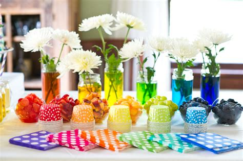 ideas homemade centerpiece for parties my home design party table decorating ideas how to make it pop