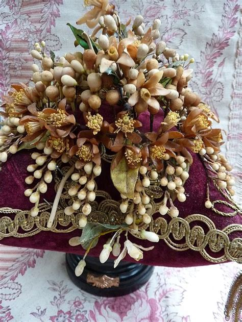 81 Best Antique Wax Flowers Images On Pinterest Wax