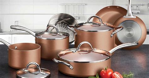 tramontina  piece nonstick cookware set   reg  shipped   sams club