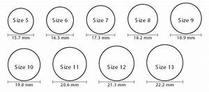 ring size chart for men online continue http www With mens wedding ring size chart