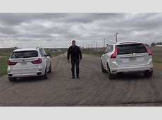 BMW X5 xDrive50i vs Volvo XC60 T6 on the Track autoevolution