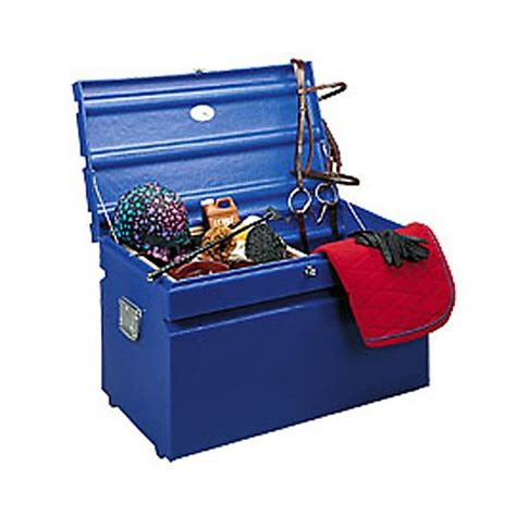tack box trunk chem tainer horse resistant weather trainer weatherproof lid