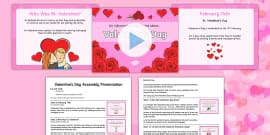 story  st valentine powerpoint powerpoint power